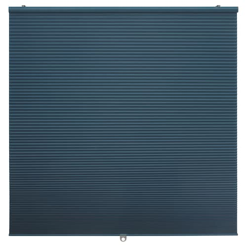 HOPPVALS room darkening cellular blind blue 155 cm 80 cm 1.24 m²