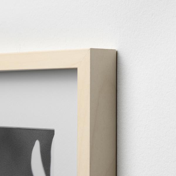 HOVSTA Frame, birch effect, 40x50 cm