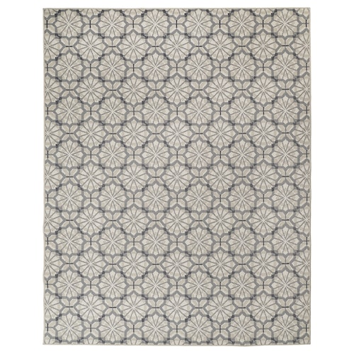 HUNDSLUND rug flatwoven, in/outdoor grey/beige 250 cm 200 cm 4 mm 5.00 m² 1295 g/m²