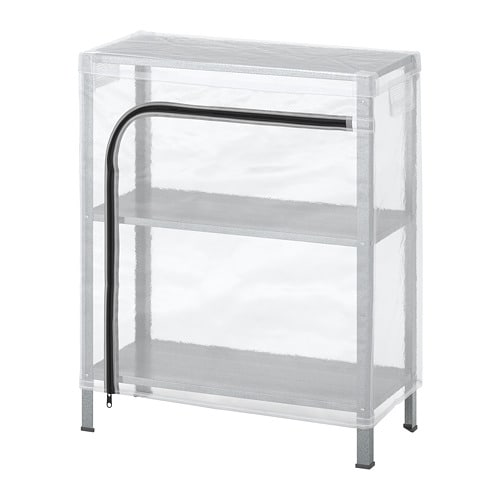 HYLLIS Shelving unit with cover