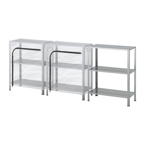 HYLLIS Shelving units with covers