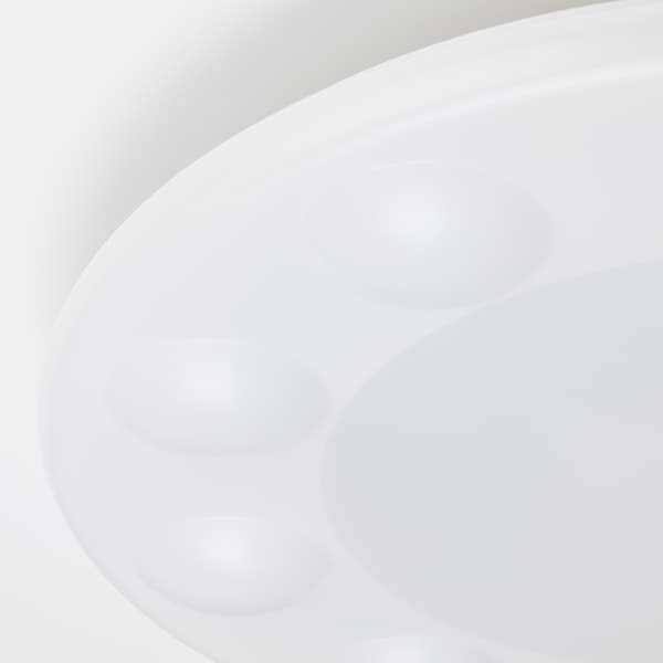 HYPERIT LED ceiling lamp w remote control dimmable white 9 cm 50 cm 42 W