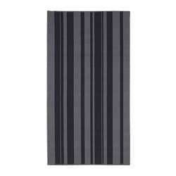 IBSTED rug, low pile, grey
