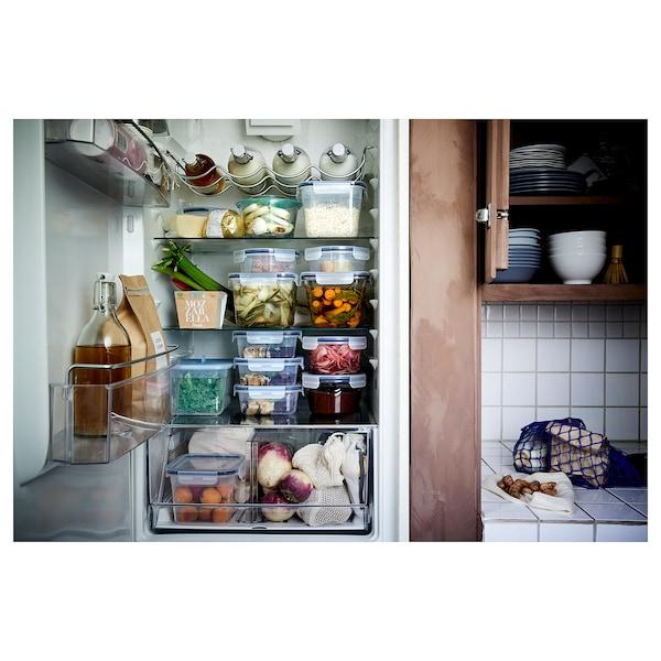 IKEA 365+ food container square/plastic 15 cm 15 cm 6 cm 750 ml