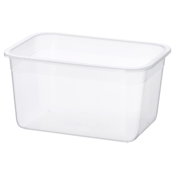 IKEA 365+ food container rectangular/plastic 21 cm 15 cm 11 cm 2.0 l