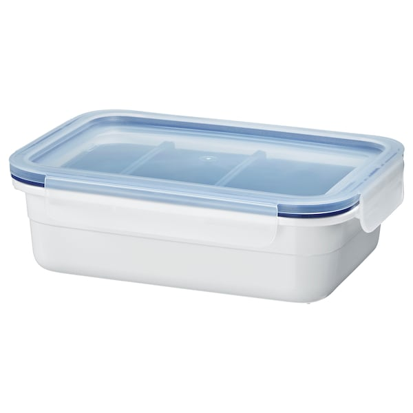 IKEA 365+ lunch box with inserts rectangular 21 cm 15 cm 6 cm 1.0 l