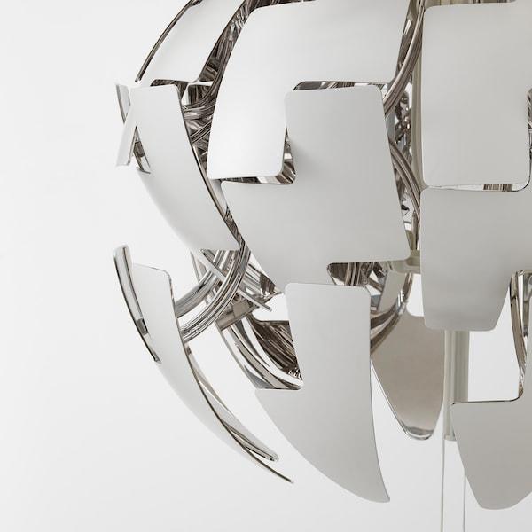 IKEA PS 2014 pendant lamp white/silver-colour 13 W 52 cm 1.5 m