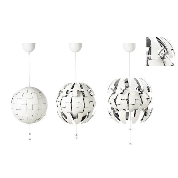 IKEA PS 2014 pendant lamp white/silver-colour 13 W 35 cm 150 cm
