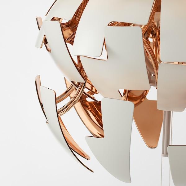 IKEA PS 2014 pendant lamp white/copper-colour 13 W 35 cm 150 cm