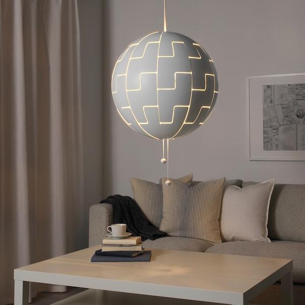 IKEA PS 2014 pendant lamp white 13 W 52 cm 1.5 m