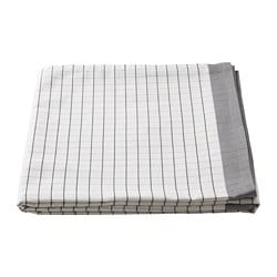IKEA 365+ tablecloth, white, grey