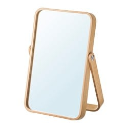 IKORNNES table mirror, ash