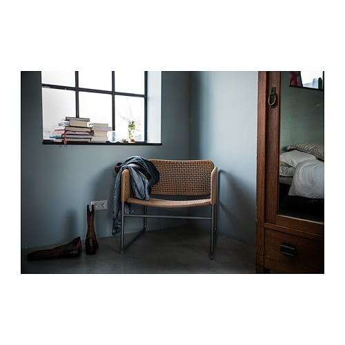 INDUSTRIELL Armchair IKEA The chair has a timeless look that allows you to easily combine it with other furniture you have at home.
