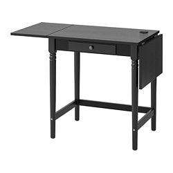 INGATORP desk, black