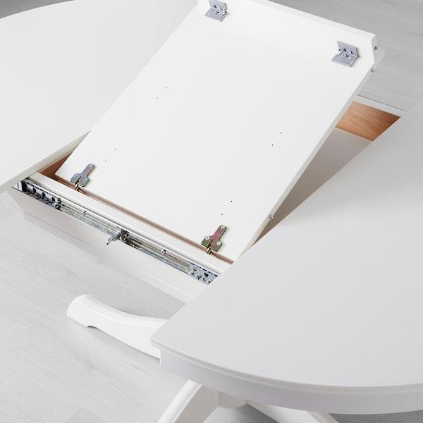 INGATORP / INGATORP table and 4 chairs white 110 cm 155 cm 87 cm 74 cm
