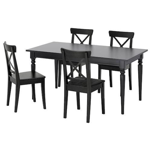 IKEA INGATORP / INGOLF Table and 4 chairs