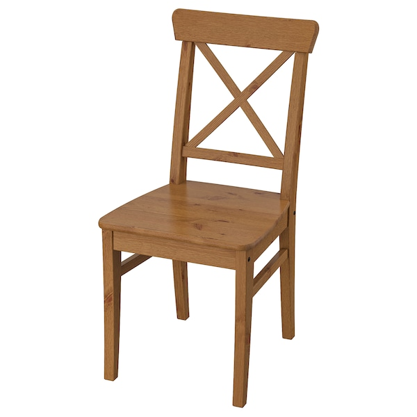 Ingolf Chair Antique Stain Ikea