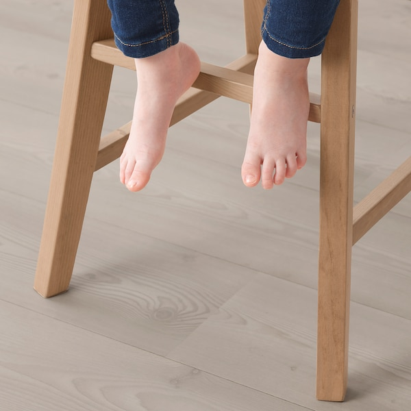 INGOLF Junior chair, antique stain