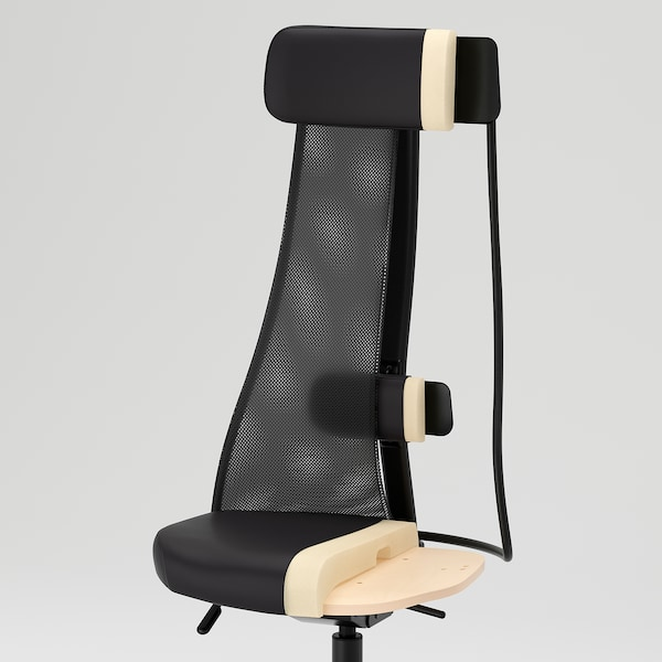 JÄRVFJÄLLET office chair Gunnared dark grey 110 kg 68 cm 68 cm 140 cm 52 cm 46 cm 45 cm 56 cm