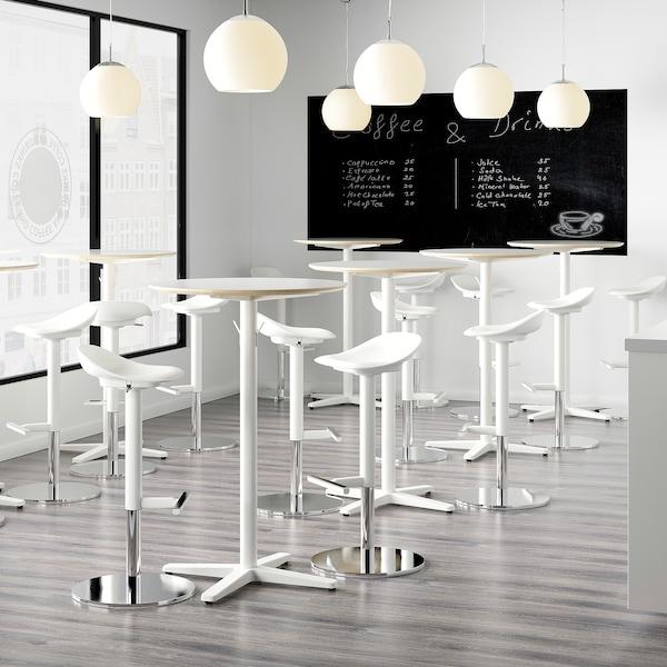JANINGE bar stool white 110 kg 38 cm 36 cm 84 cm 42 cm 76 cm 56 cm 76 cm