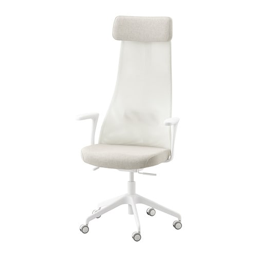 JÄRVFJÄLLET Office chair with armrests