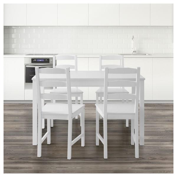 JOKKMOKK Table and 4 chairs, white