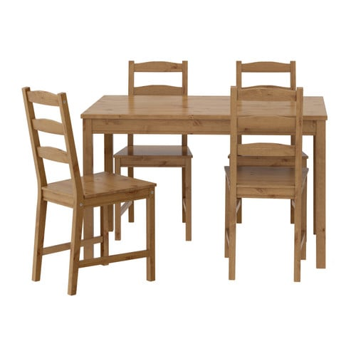JOKKMOKK Table and 4 chairs IKEA Solid pine; a natural material that ages beautifully.