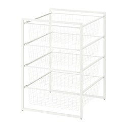 JONAXEL frame with wire baskets