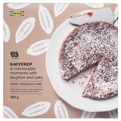KAFFEREP gooey chocolate cake frozen/UTZ certified 400 g