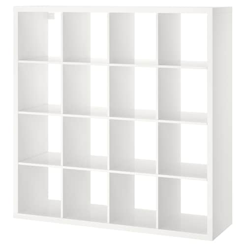 KALLAX shelving unit high-gloss white 147 cm 39 cm 147 cm
