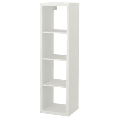 KALLAX Shelving unit, white, 42x147 cm
