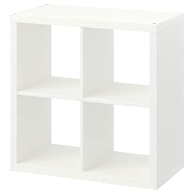 KALLAX Shelving unit, white, 77x77 cm