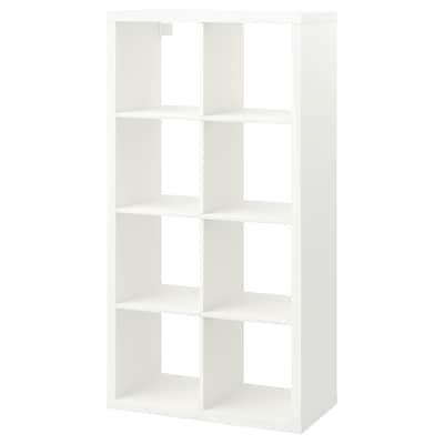 KALLAX Shelving unit, white, 77x147 cm