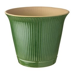KAMOMILL plant pot, in/outdoor green green