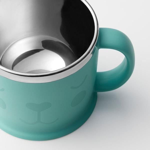 KANONKUL Mug, blue, 23 cl