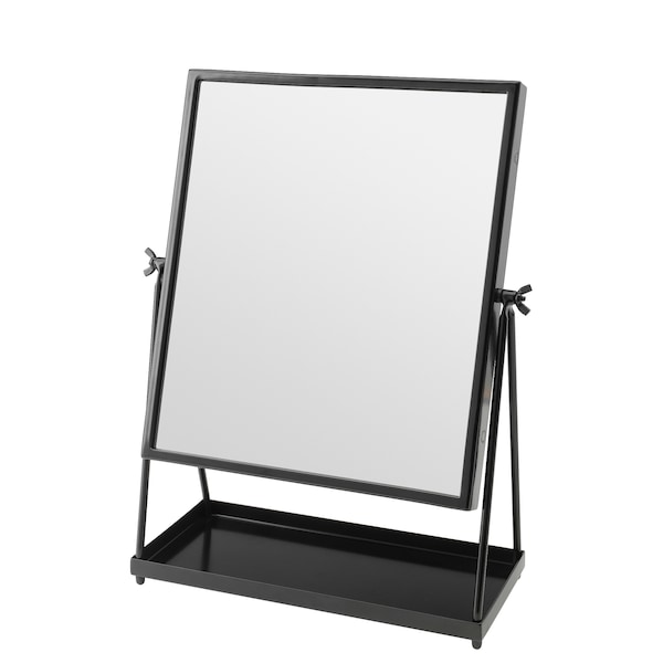 KARMSUND table mirror black 27 cm 43 cm