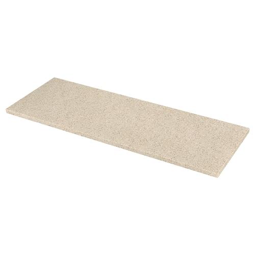 KASKER custom made worktop beige/brown mineral effect/quartz 2.0 cm 4.0 cm 100 cm 20 cm 300 cm 20.0 cm 135.0 cm 4.0 cm 1 m²