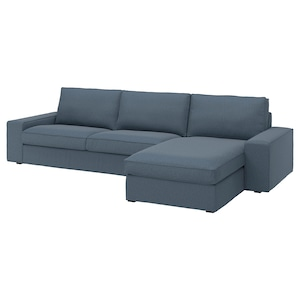 Cover: With chaise longue/gunnared blue.