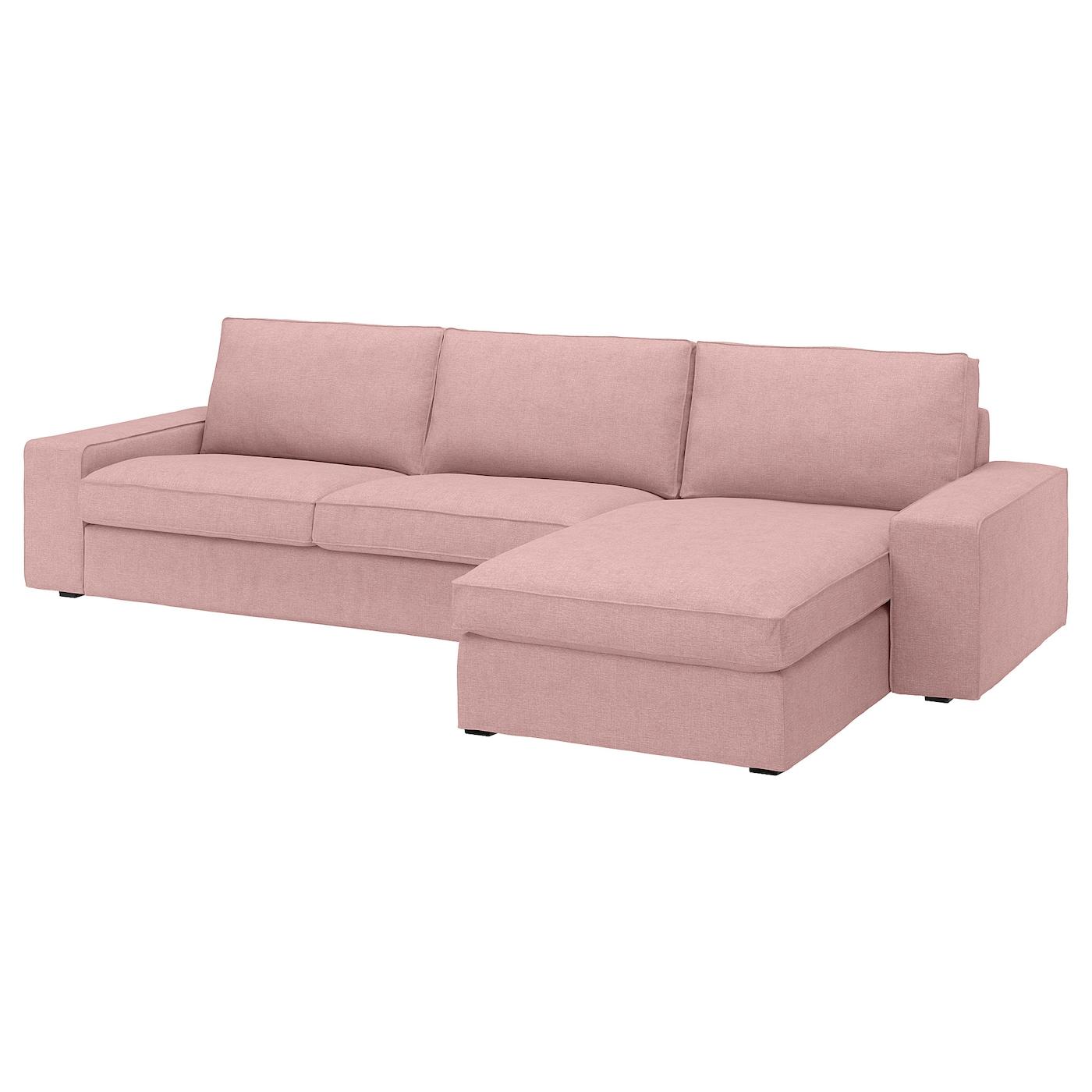 Kivik 4 Seat Sofa With Chaise Longue