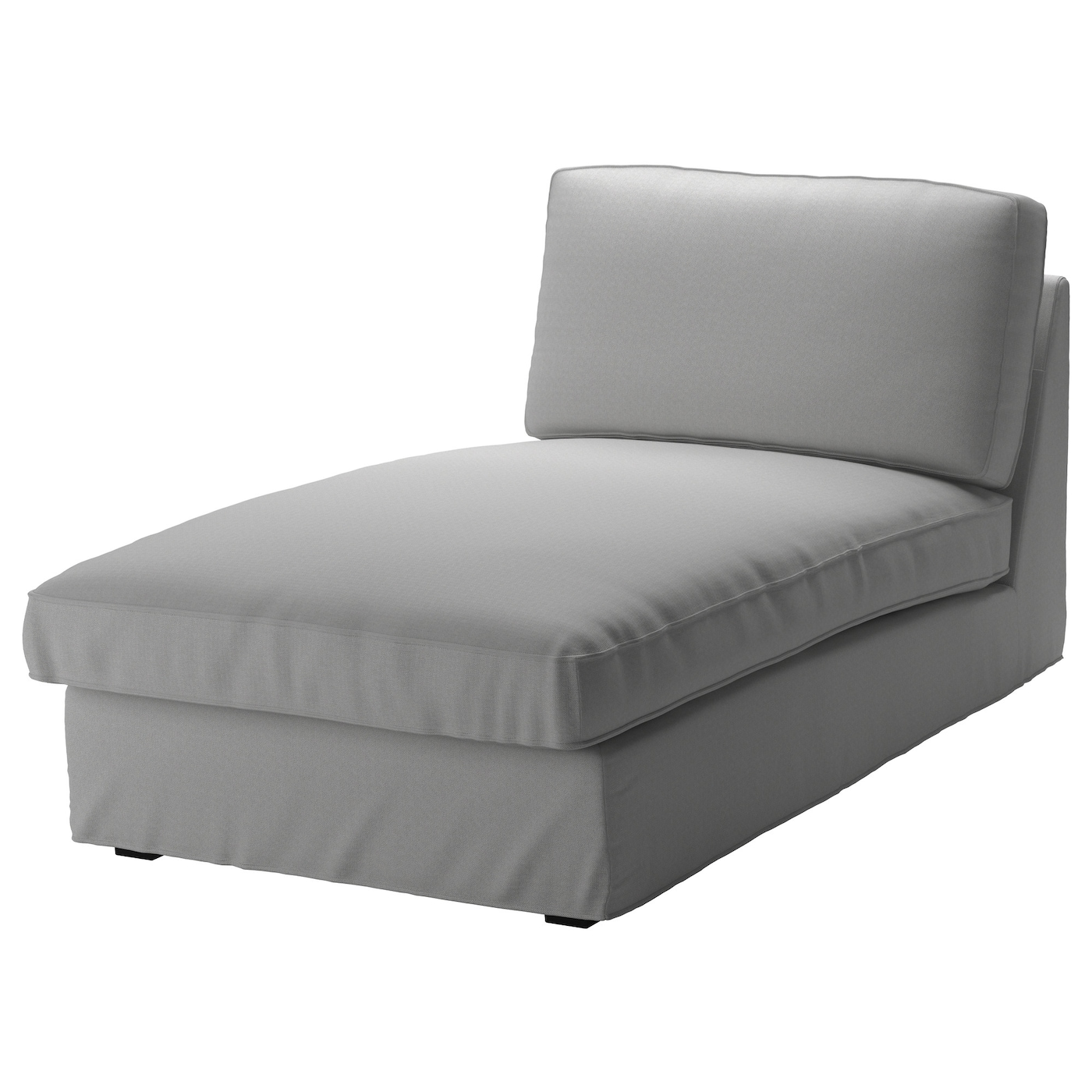 Kivik Chaise Longue Orrsta Light Grey Ikea