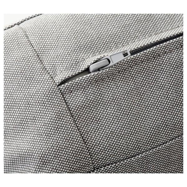 KIVIK footstool with storage Orrsta light grey 90 cm 70 cm 43 cm