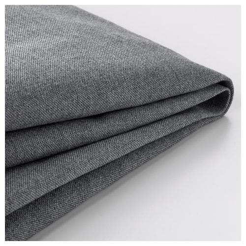 KLIPPAN cover for 2-seat sofa Vissle grey 2 pieces