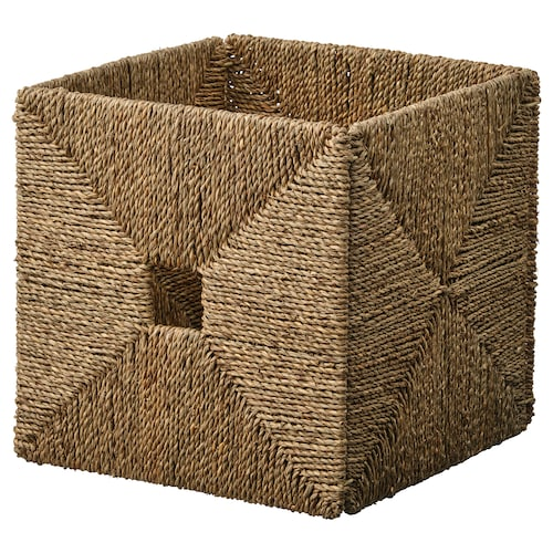 KNIPSA basket seagrass 32 cm 33 cm 32 cm