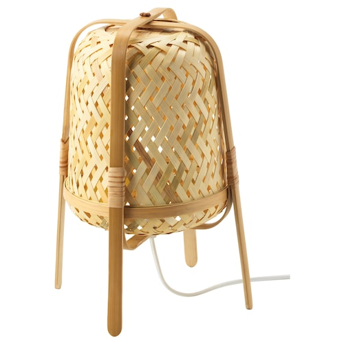 KNIXHULT table lamp bamboo 13 W 37 cm 26 cm 2.0 m
