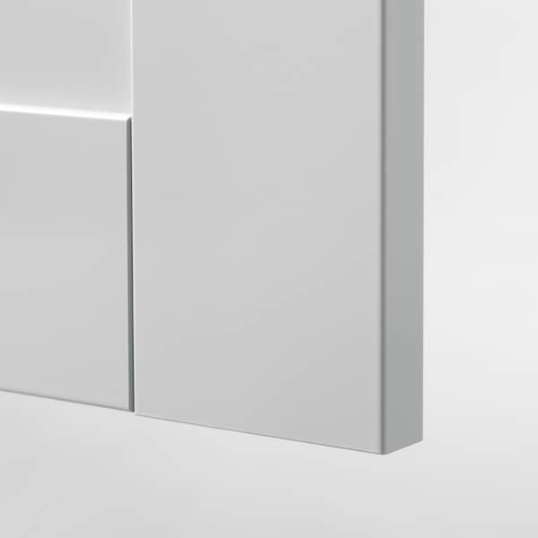 KNOXHULT Kitchen, grey, 182x183x220 cm