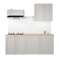 KNOXHULT kitchen, grey