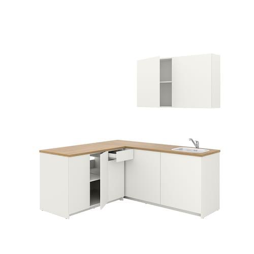 KNOXHULT kitchen white 182.0 cm 183.0 cm 220.0 cm
