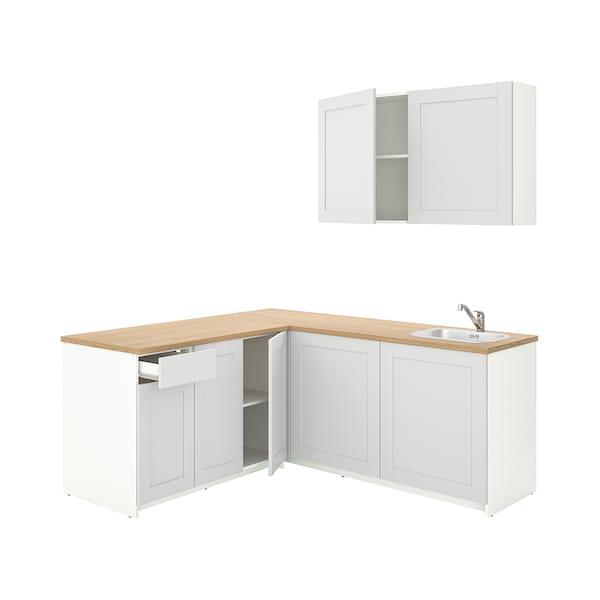 KNOXHULT kitchen grey 182.0 cm 183.0 cm 220.0 cm