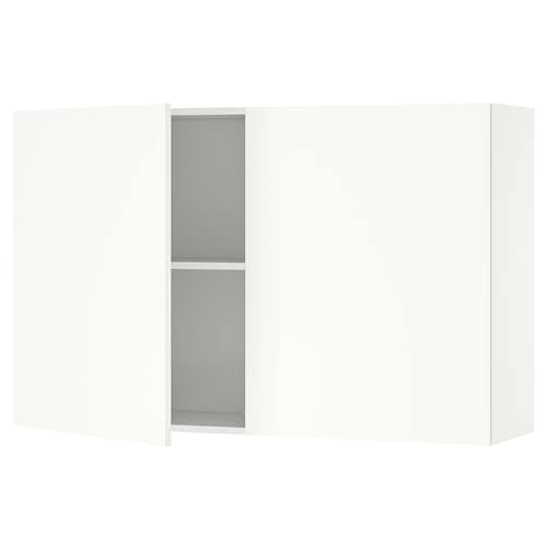 KNOXHULT wall cabinet with doors white 120.0 cm 31.0 cm 75.0 cm