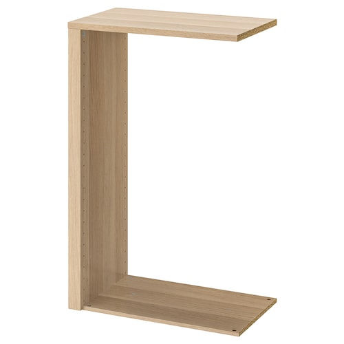 KOMPLEMENT divider for frames white stained oak effect 100 cm 75 cm 46.1 cm 35.0 cm 81.5 cm 35 cm